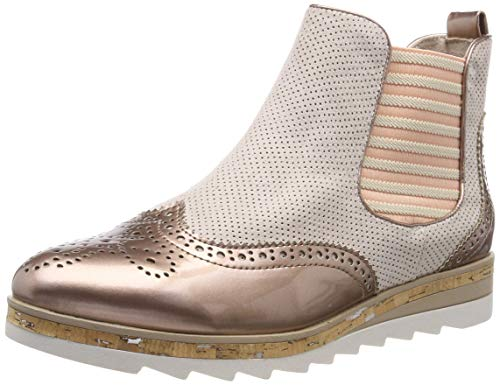 MARCO TOZZI Damen 2-2-25403-32 Chelsea Boots, Pink (Rose Comb 596), 40 EU Chelsea Rose