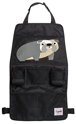 Preisvergleich Produktbild 3 Sprouts Rücksitz Organizer Bulldogge