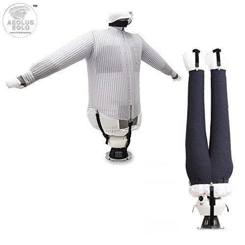 EOLO PlanchaSecadora SA04 EH Plancha y seca camisas pantalones camisetas vaqueros sudadoras ….