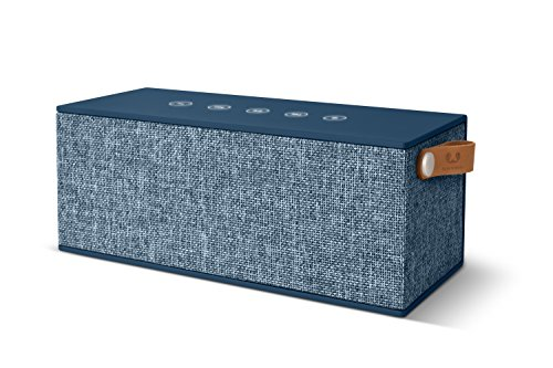 Fresh ´n Rebel -Rockbox Brick XL Fabriq Edition- tragbarer, kabelloser Lautsprecher mit Bluetooth 4.2, inklusive Micro-USB-Ladekabel, Farbe Indigo (Xl-brick)