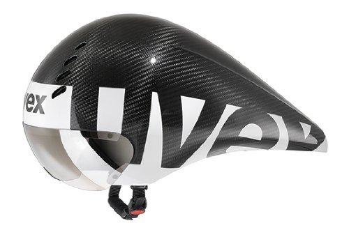Uvex Fahrradhelm Race 6, Black Carbon Mat, 52-57, 4109610115