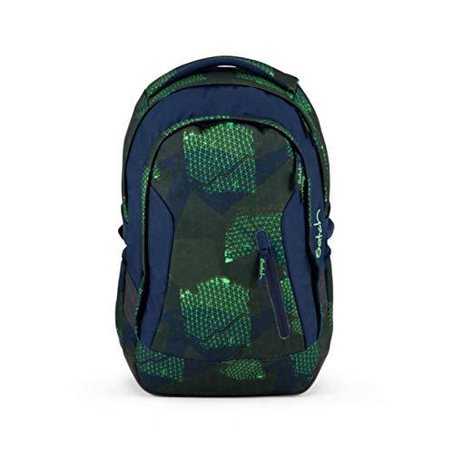 SATCH Backpack Kinder-Rucksack, 45 cm, 24 Liter, Blue Grids