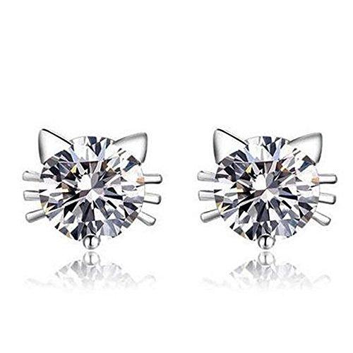 kitty-funky-cute-cat-silver-plated-swarovski-elements-crystal-earrings-for-women