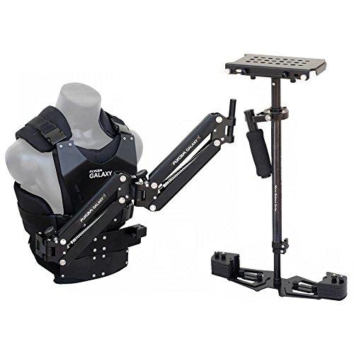 FLYCAM Galaxy Stabilizer Arm & Vest with HD-5000 Steadycam System (GLXY-AV-HD5) for DSLR DV Camera Nikon Canon Sony Panasonic
