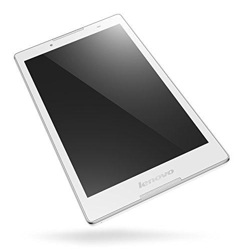 Lenovo TAB 2 A8-50 20,3 cm (8 Zoll HD IPS) Tablet (MediaTek 8735 Quad-Core Prozessor, 1,3GHz, 1GB RAM, 16GB eMMC, 2MP + 5MP Kamera, Touchscreen, LTE, Android 5.0) weiss