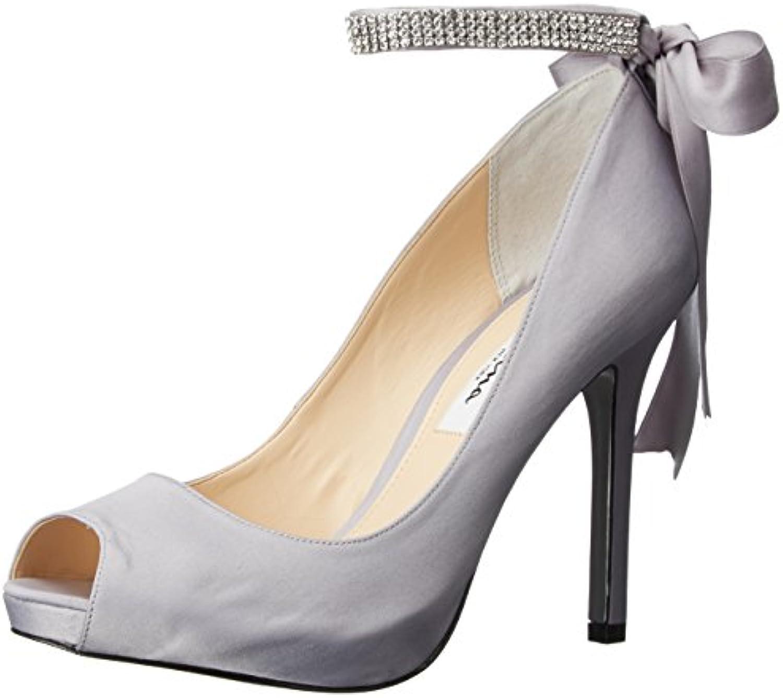 Nina Wouomo Karen-LS Dress Pump, LS-Royal argento, 11 M US US US | Grande Vendita Di Liquidazione  8da822