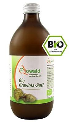 BIO Graviola Saft - 500 ml (Guanabana, Stachelannone)