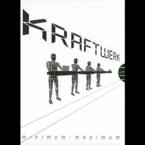 Kraftwerk - Minimum-Maximum 2 DVDs (Surround 3d-dvd,)