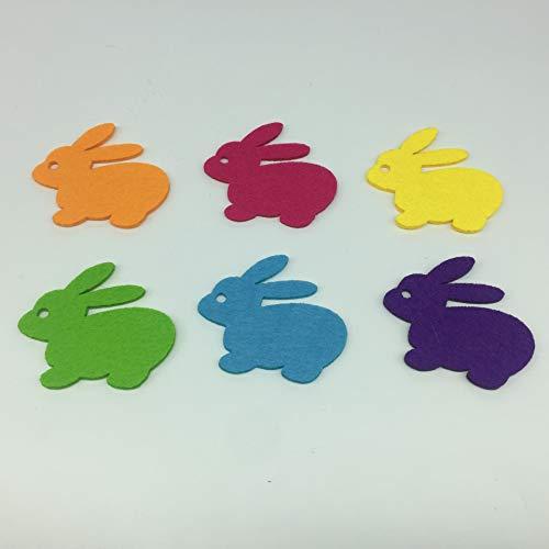 es Farbe Kaninchen Wand Spielzeug Tier Kindergarten Dekoration Klassenzimmer Layout Kreative Wandaufkleber 6 Farbe ()