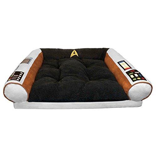 Star Trek Captains Chair Dog Bed S/M