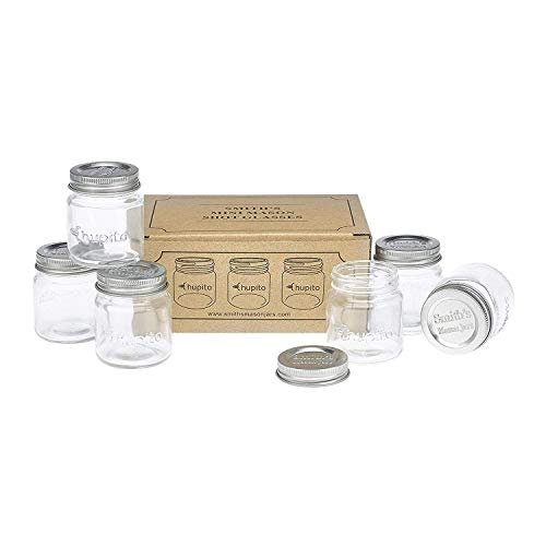 Smiths Mini Mason Jar set of 6