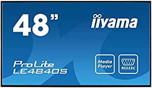iiyama LE4840SB1 Moniteur grand public sans tuner Noir