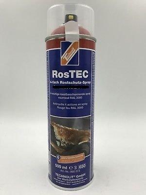 Technolit RosTEC 4-Fach Rostschutz 500ml Lichtgrau