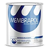 MEMBRAPOL 260 CAMPER, Impermeabilizzante Poliuretanico, Bianco, 1 kg