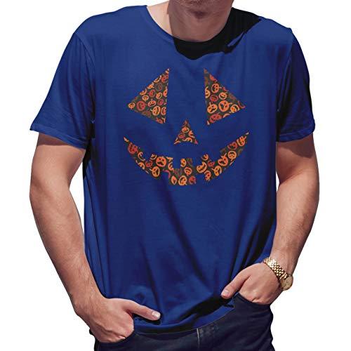 Lapi Boutique Pumpkins Face with Pumkins Spice Helloween Camiseta...