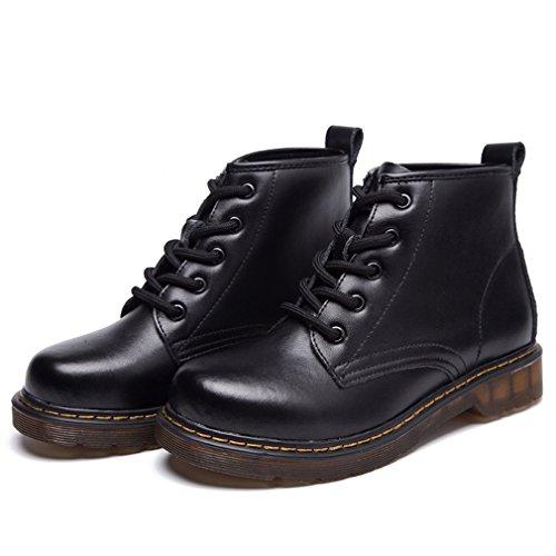 Solshine , chaussures compensées femme Schwarz 2(Mit Fell)