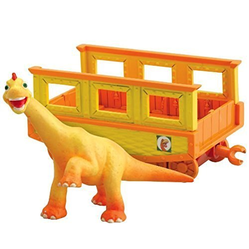 Dinosaur Train - Collectible Ned With Train Car by Learning Curve