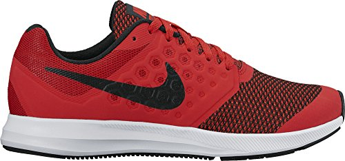 NIKE DOWNSHIFTER 7 (GS) ROSSO NERO SNEAKERS 869969-600 - 38.5, ROSSO