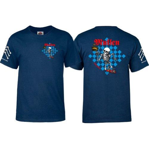 powell-peralta Rodney Mullen T-Shirt navy