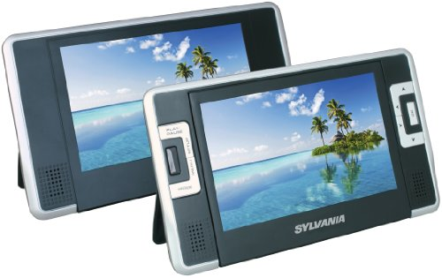 curtis-sylvania-sdvd8732-7-inch-dual-screen-portable-dvd-player-with-built-in-35-hour-lithium-batter