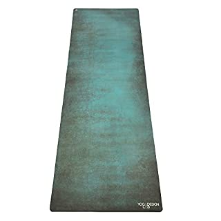 The Aegean Combo Yoga Mat. Luxurious, Non-slip, Combo Mat/Towel Designed to Grip the More You Sweat! Two Products in One (Mat/Towel). No Longer Need to Bring a Mat AND Towel to Class Anymore (All-in-One Product). Ideal for Bikram, Hot Yoga, Pilates, or Sweaty Practice. Foldable, Reversible, Machine Washable, Eco-Friendly, Biodegradable Materials. Includes Carrying Strap. Money Back Guarantee.