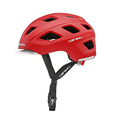 Cairbull Urban Cycle Helmet with Lights 54-58cm Mountain Bike Cycling Helmet for Men and Women by RUIKODOM