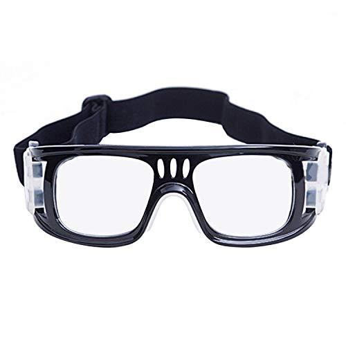 JVSISM Sport Gl?Ser Brille Gl?Ser Basketball Fu?Ball Brille Pc Sport Schutzbrille