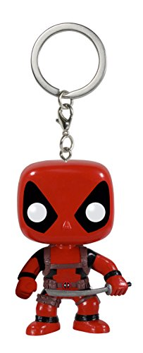 Funko - Porte Clé Marvel - Deadpool Pocket Pop 4cm - 0849803049843