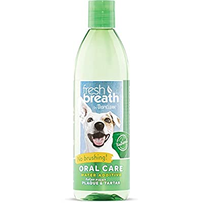 Tropiclean Fresh Breath Water Additive, 473 ml by Tropiclean