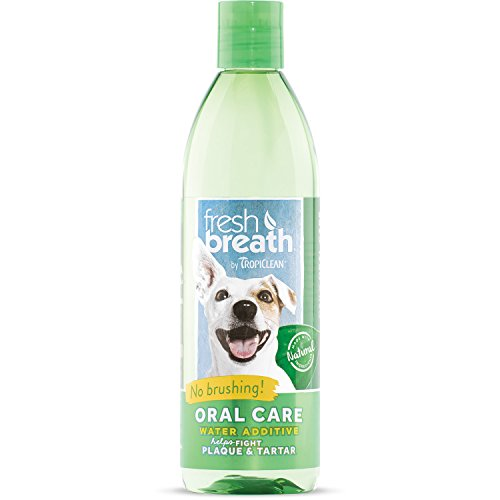 Tropiclean FBWA16Z Oral Care Water Additive zur Mundhygiene, 473 ml (Clipper-spray)