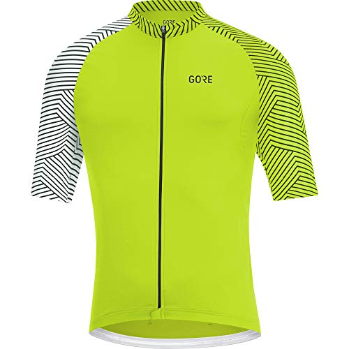 Gore Wear Herren GORE C5 Trikot Citrus Green/White, M -