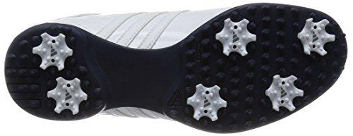 newest collection 1b37e e039b ... Adidas Dri Boa - Chaussures De Golf Pour Femme Blanc  Bleu ...