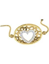 TBZ - The Original - 18k (750) Gold and Diamond Daily Wear Charm Bracelet
