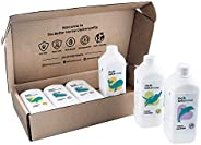 The Better Home Cleaning Kit |Laundry Liquid Detergent, Dish Wash, Toilet Cleaner, Floor Cleaner by The Better