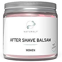 NATURAL7 After Shave Balsam Women | Die beste Methode gegen Pickel nach der Rasur