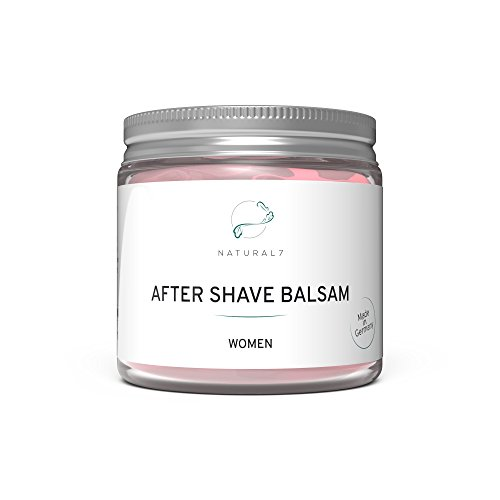 Natural7 After Shave Balsam Women - NEU - Die beste Methode gegen Pickel nach der Rasur - (1 x 200...