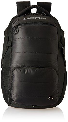Gear 30 Ltrs Black Laptop Backpack (LBPASPIRE0104)