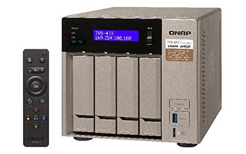 Preisvergleich Produktbild Qnap TVS-473-64G 4-Bay Bundle 32TB mit 4x 8TB WD8001FFWX Red Pro