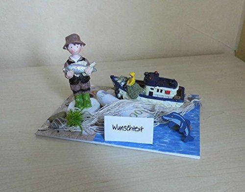 Geldgeschenk - Angler - Angeln Gutschein