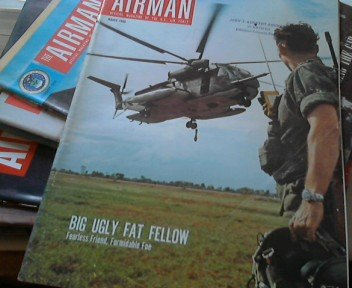 Airman - Official Magazine of the U.S. Air Force - Volume XIII ( 1969 ) Complet without the October Magazine