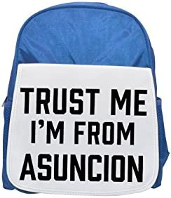 Trust me I am   Asuncion printed printed printed kid's Bleu  backpack, Cute backpacks, cute small backpacks, cute Noir  backpack, cool Noir  backpack, fashion backpacks, large fashion backpacks, Noir  fashion backp | Finement Traité
