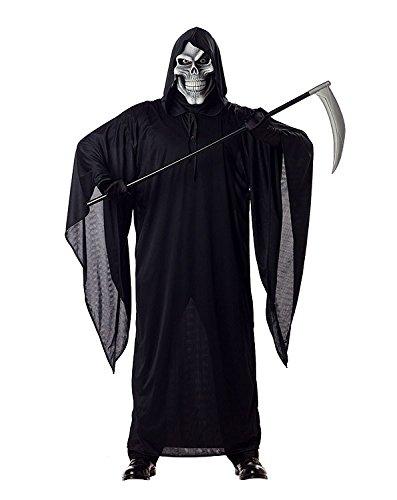 Herren Kostüm Sensenmann - California Costumes Kostüm Sensenmann Herren Halloween M (40/42)