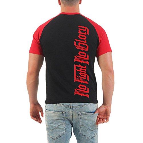 Männer und Herren T-Shirt Zahnfee Business macht sich nicht von alleine (mit Rückendruck) Größe S - 8XL Schwarz/Rot