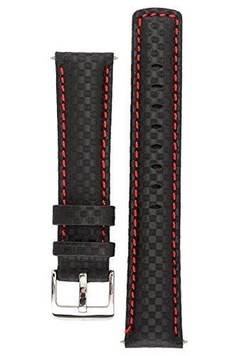 signature-carbonio-band-strap-leather-orologio-da-polso-con-fibbia-color-argento