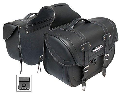 Deluxe Leder Oxide Tek Motorrad-Packtaschen Cruiser, Satteltaschen, Reisetaschen