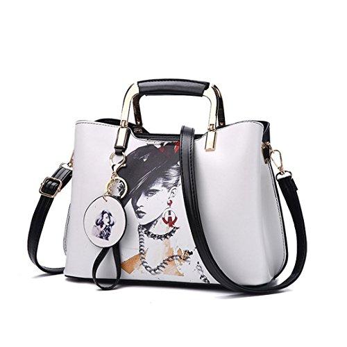 Taschen Großhandel weibliche Tasche Handtasche Schulter seine Tasche hat 28x20x13cm