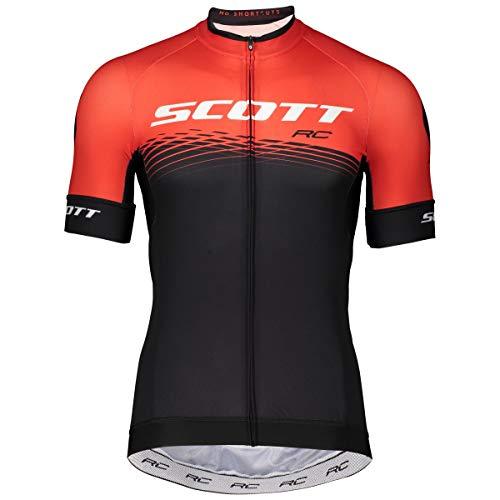 Scott RC Pro Fahrrad Trikot kurz schwarz/rot 2019: Größe: XL (54/56)