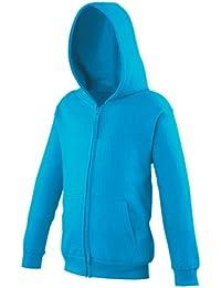Just Hoods AWDis Kids Zoodie Zip Up Hoodie Sweatshirt