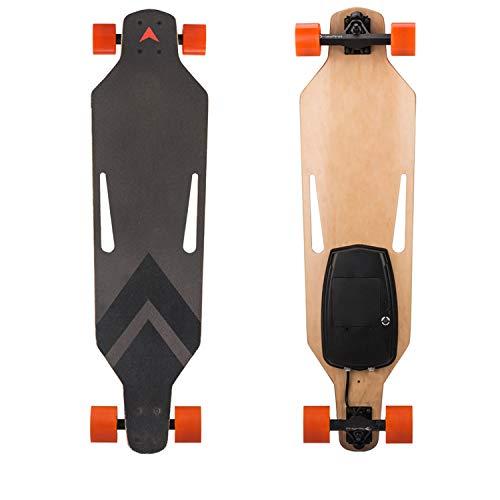 Elektrisches Reise-Skateboard-Vierrad-Fernbedienung 500W Hochgeschwindigkeits-25KM / H elektrisches Skateboard-abnehmbares 18650 Lithium-Batterie-Reise-Werkzeug