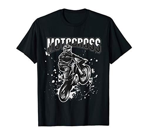 Retro Vintage Biker Motocross Motorcycle Bike Motorräder T-Shirt -